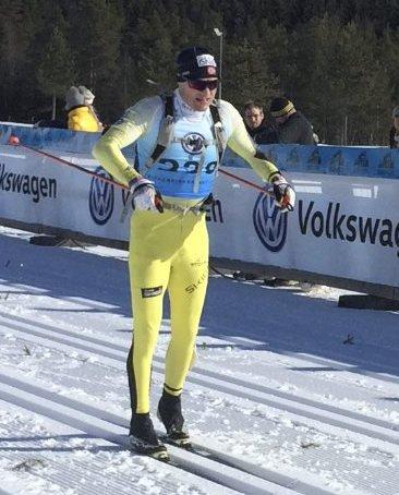 I driv: Her er Ragnar Koffeld i fint driv under fjorårets Vasaloppet. Han går fort i år også.