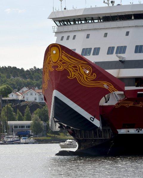 KRAV: Fjord Line vil ha tilbakebetalt advokatutgifter. Arkivfoto