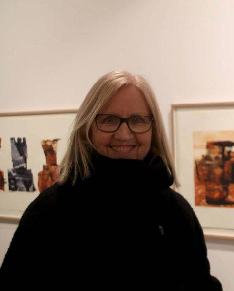 Ingunn Milly Hansen er en av to bodøkunstnere som er antatt til Årsutstillingen. Foto: Privat