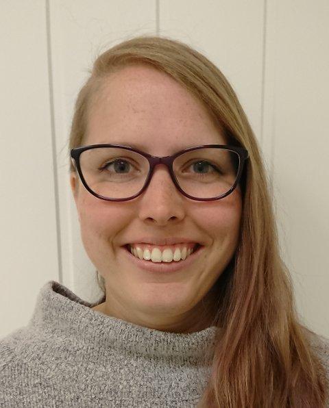Spillentusiast: Cathrine Marthinsen står sammen med kjæresten bak det nyeste aktivitetstilbudet på Bylab: en månedlig spillkveld.