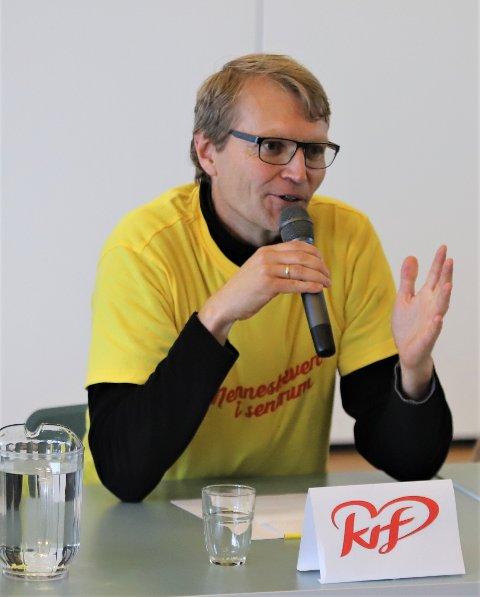 SKUFFET: Lars Johan Rustad og Krf står utenfor kommunestyret kommende periode.