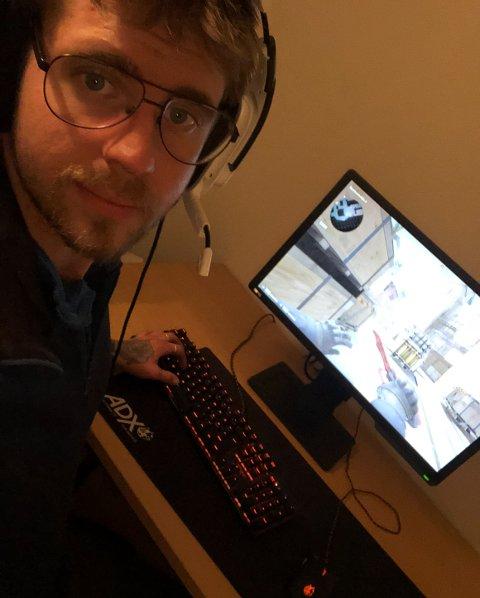 E-sportssenter: Mats Lund (28) undersøker engasjementet for å starte et E-sportssenter i Vågan.