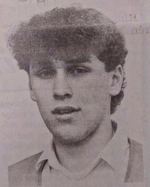 1986: Slik så en ung Bror Andersen ut for 33 år siden.