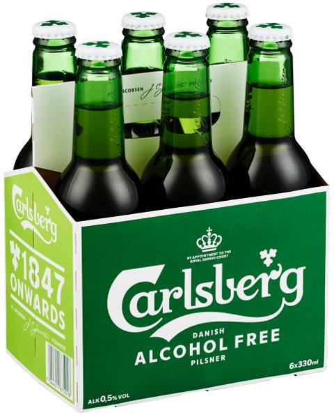 De alkoholfrie flaskene har hvit kork, mens de alkoholholdige flaskene har grønn kork. – Flaskene er riktig merket. Utfordringen er at de har havnet i feil pappbeholder, sier Ringnes.