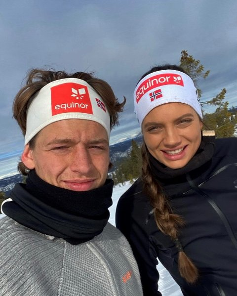 SØSKEN: Erik og Kristine Stavås Skistad er toppidrettsutøvere i hver sin idrett.
