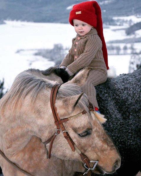 8. GOD JUL: Santa's Little Helper. Foto: A. Blikken