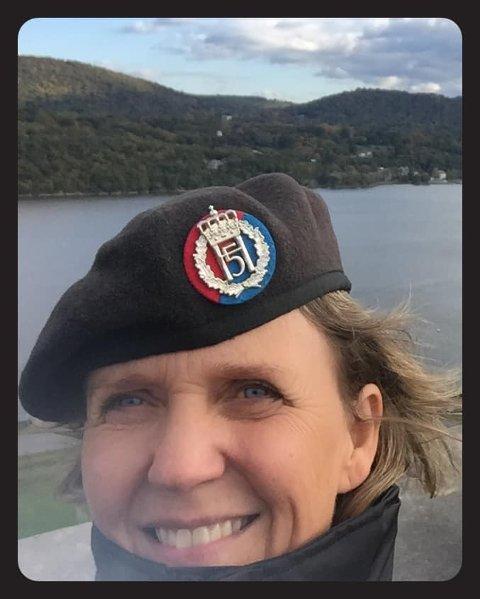 NY JOBB: Elisabeth Gifstad Michelsen (48) er utnevnt til brigader i hæren.