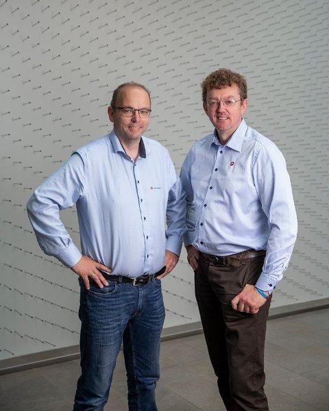 Jostein Duesund ( til venstre ) og Ørjan Daae