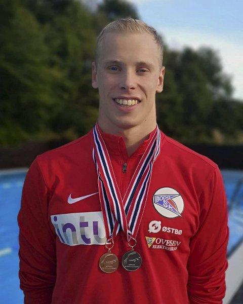 Da Runar Borgen sist stilte i NM, i 2016, tok han både medaljer og norske rekorder. To år senere var han endelig tilbake og hentet nye medaljer til medaljeskapet sitt.Foto: Privat