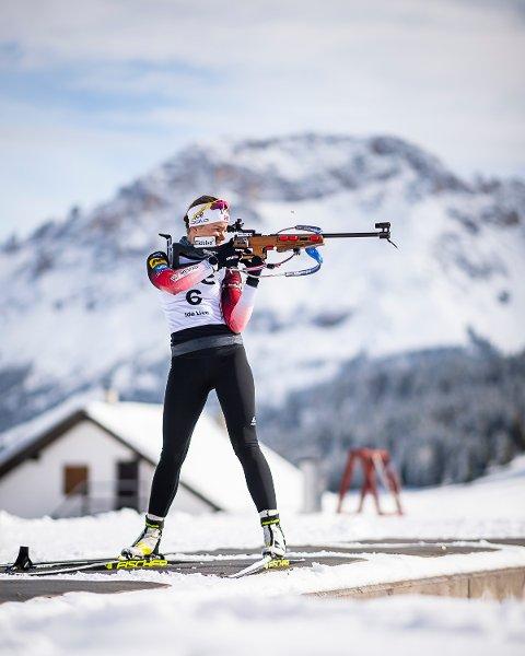 VM-DEBUTANT: Ida Lien (23) debuterer i VM om en knapp måned, og har håp om å få vist seg fram.