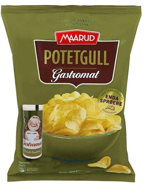 Aksjonsgruppen promoterte potetgullideen, gjennom henvendelse til Maarud. Så tok kommentarfeltet av.