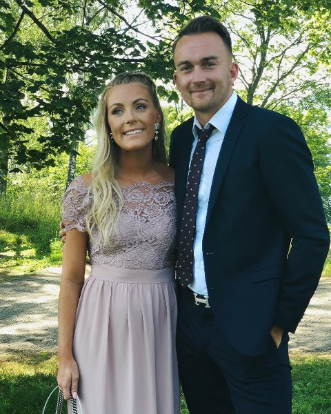 KIL-spiller Victor Grodås venter sitt første barn sammen med samboer Silje Louise Tvedte.