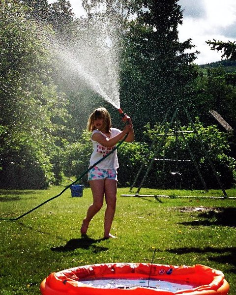 3. I HAGEN: En smak av sommer.
