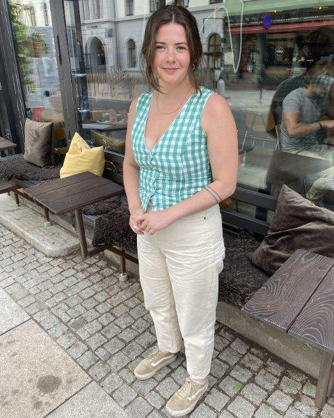 Rebekka Rognøy: Lader opp for å lage film i hjembyen Halden i slutten av juli.  Alle Foto: Tom Skjeklesæther