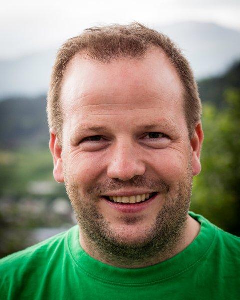 PÅ VAL: Asbjørn Birkeland i Sauda Sp.
