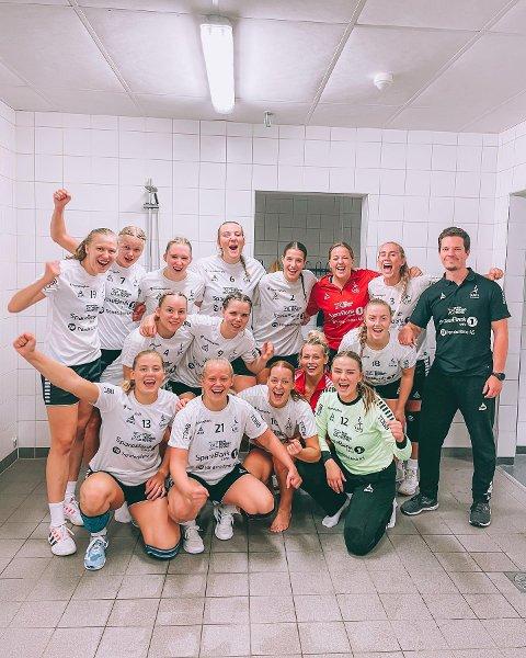 SEIER: LHK vant cupens andre runde og møter eliteserielaget Molde i tredje runde. Her fra forrige ukes treningskamp.