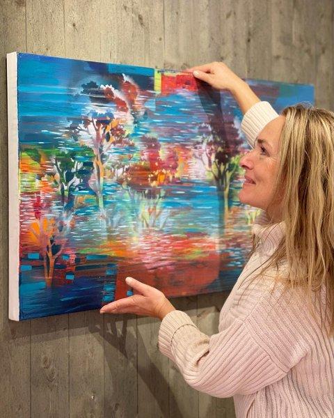 FLYTTER INN: Kunstner Randi Antonsen overtar lokalene etter Galleri Landlig på Gulburet.