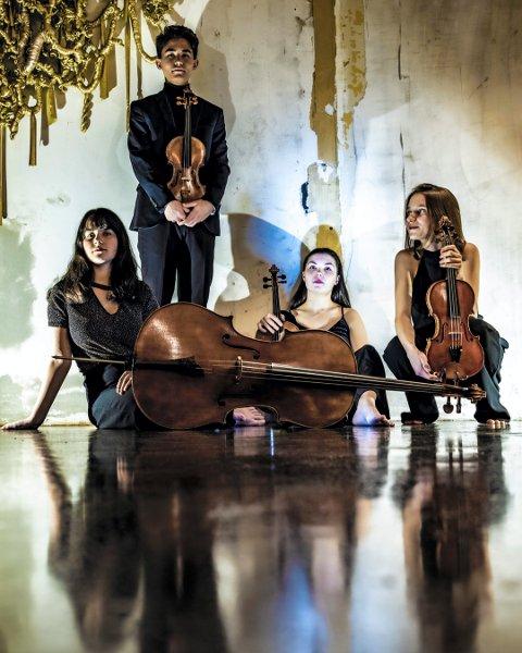 KOMMER: Sonoro Strykekvartett blir å høre mang ganger under Glogerfestspillene, som arrangeres denne uken.