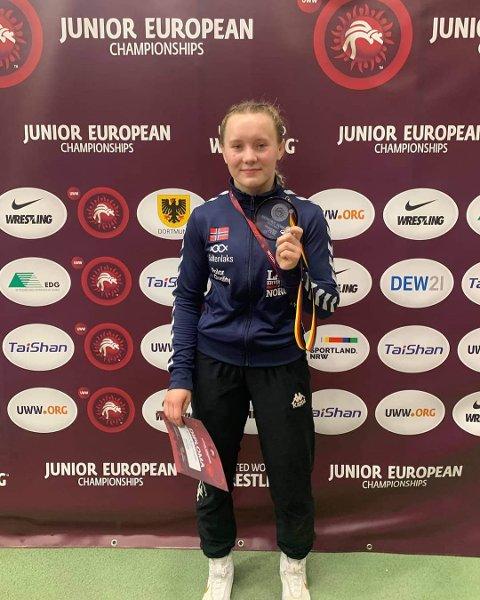 GULLDRØMMEN: Selv om Viktoria Miriam Øverby allerede har flere internasjonale meritter, er det gullmedalje i VM som står høyest på ønskelista.