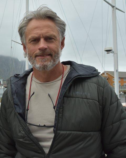 PÅ VENT: Etter streiken brøt ut har Steinar Jøraandstad og hans kontakter i Lofoten stått klar og ventet.