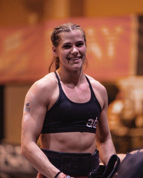 VANT: Matilde Øyen Garnes, som bor i Trondheim, har kvalifisert seg til CrossFit Games i USA.