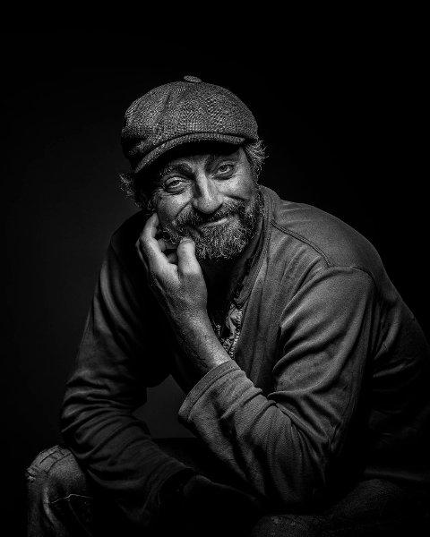 PAUL OTTAR: Hadeland-fotografen Bjørn Tore Stokke fikk hederlig omtale for dette bildet av skuespilleren Paul Ottar Haga.