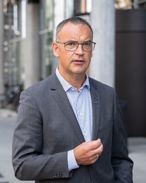 Morten Dalsmo leder SINTEF Digital og var en av mange dyktige innledere knyttet til hva andre bransjer gjør med igitalisering.