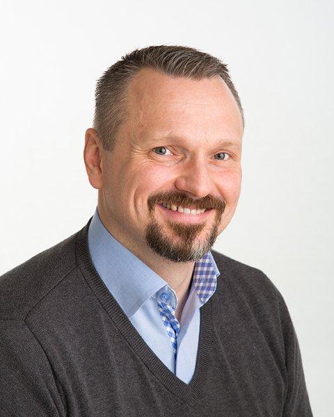 Daglige leder for Indre Østfold og Andebu Gjensidige Brannkasse, Roald Fisher.