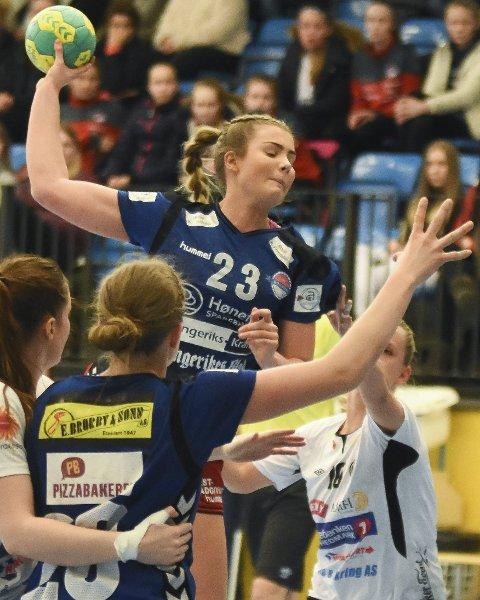 Toppscorer: Hedda Røhne imponerte med hele 18 mål i helgen.