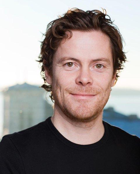 Jens Nordahl er kommunikasjonssjef i Vinmonopolet.