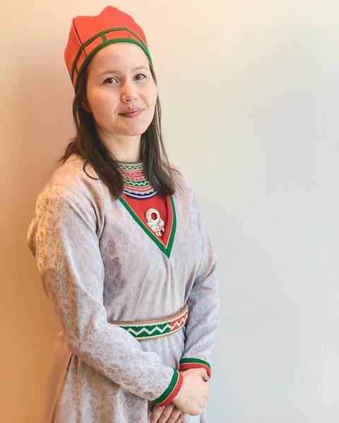 INNLEGGSFORFATTER: Maja Kristine Jåma, NSRs toppkandidat i sørsamisk valgkrets til Sametingsvalget 2021.