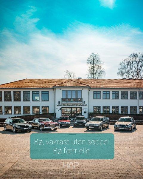 BILENS DAG: Lørdag 7. august arrangerer Foreningen for motorinteresserte i Bø og omegn Bilens dag på torget i Bø.