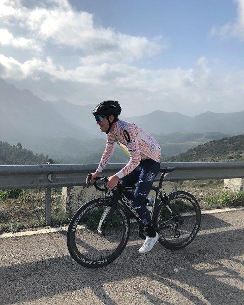 VENDER SNUTEN HJEM: Kristian Aasvold returnerer til Norge for å sykle.