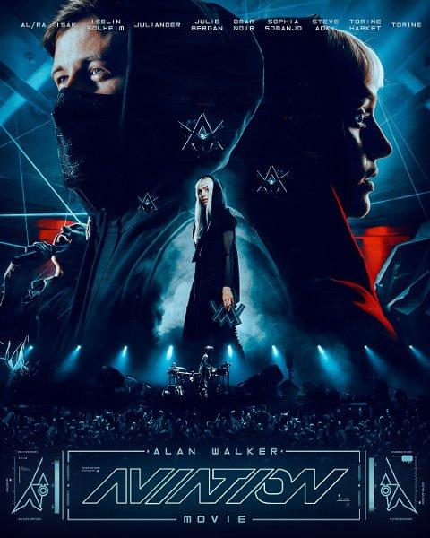 Konsertfilmplakaten til den nye konsertfilmen som ble sluppet klokken 14.00 i dag.
