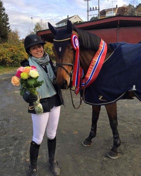 Fem i VM:  Victoria Gulliksen/Firefly H. ble nummer fem i VM for 6-åringer og tok gull i NM.