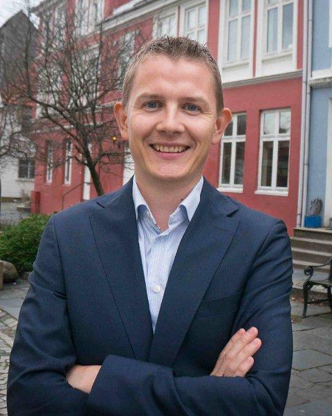 Tor Ramsøy, salgsleder i Privatmegleren Syd.