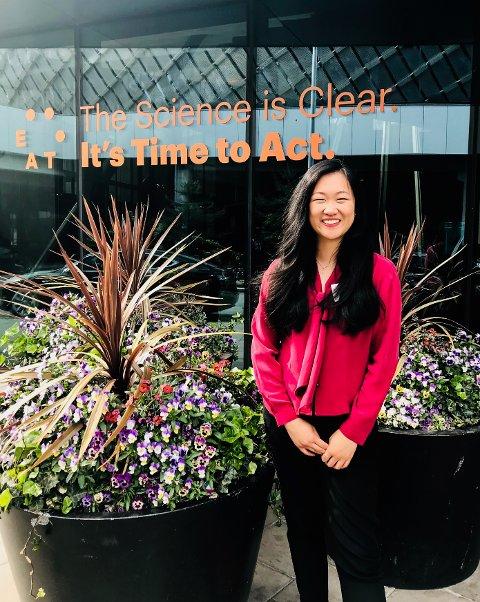 JOBB: Vivian Lam har jobbet i Eet Foundation. Bildet er fra Eat Stockholm Food Forum som de arrangerte ved Quality Hotel Globe i Stockholm.