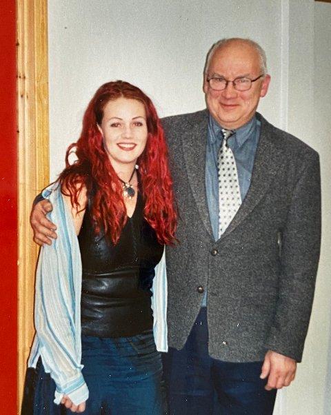 I BRANDBU: Unni spilte på jazzklubben i Brandbu for nesten 20 år siden. Onkel Asbjørn var stolt tilhører.
