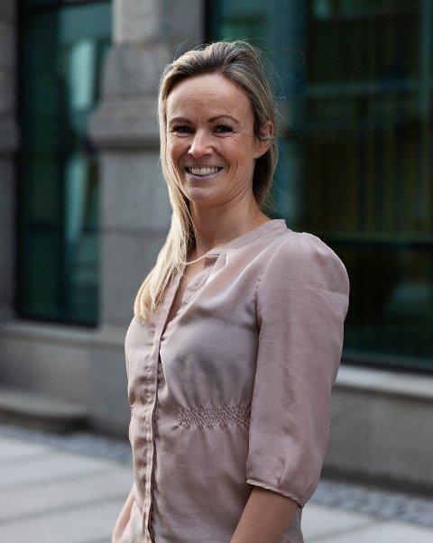NY JOBB: Hanne Dypdahl fra Levanger er ny rektor ved Bjørknes privatskole.