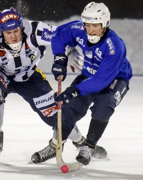 GOD: Lars Bjørge Thorsen spilte en god kamp mot Ullevål onsdag kveld. Foto: Tobias Nordli