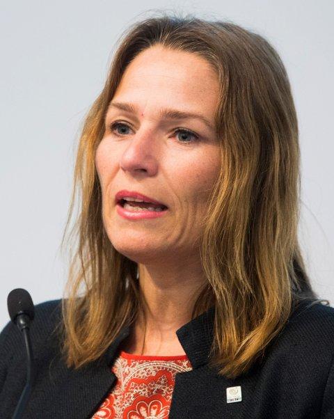 Trine Lise Sundnes er forbundsleder i Handel og Kontor.