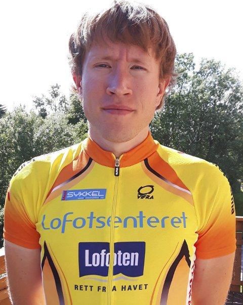God: Sigurd Nesset gjorde sine saker bra da han representerte Lofoten Sykkelklubb under NM i Bodø. Foto: privat