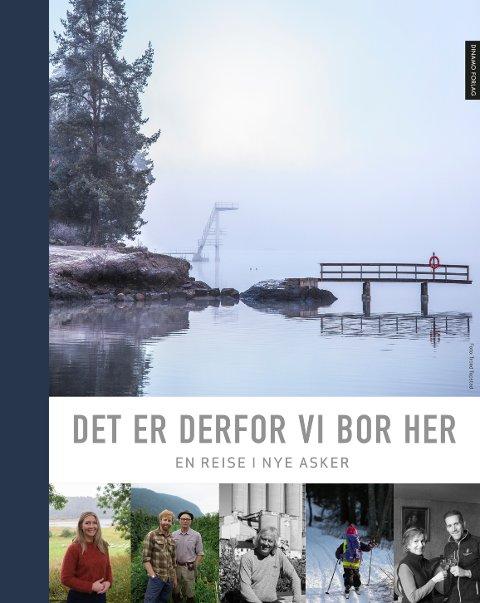 OM NYE ASKER: Boka tar for seg steder og folk i de tre kommunene som fra nyttår blir en stor kommune. Boka er utgitt på Dinamo forlag.