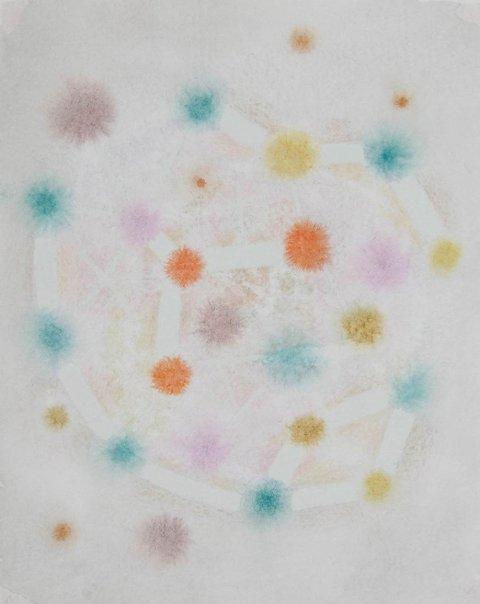 Marianne Mannsåker - SUHAIL  2014  (32 x 25)cm  Akvarell på håndlaget papir
