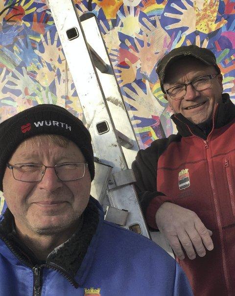 Hjelpere: Erik Kirkemo og Arild Bjerkestrand-Braathen.