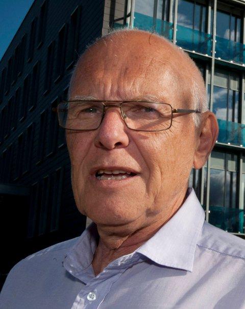 Bjørn Iddberg, avtroppende ordfører i Gjøvik.