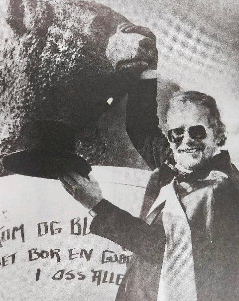 1986: Slik så Kolbjørn Kværum ut da han var kultursjef for 33 år siden.