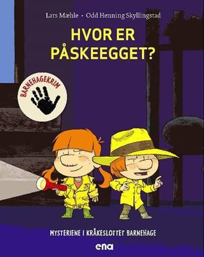 Ikke mindre enn åtte bøker fra Kråkeslottet barnehage har det blitt så langt.
