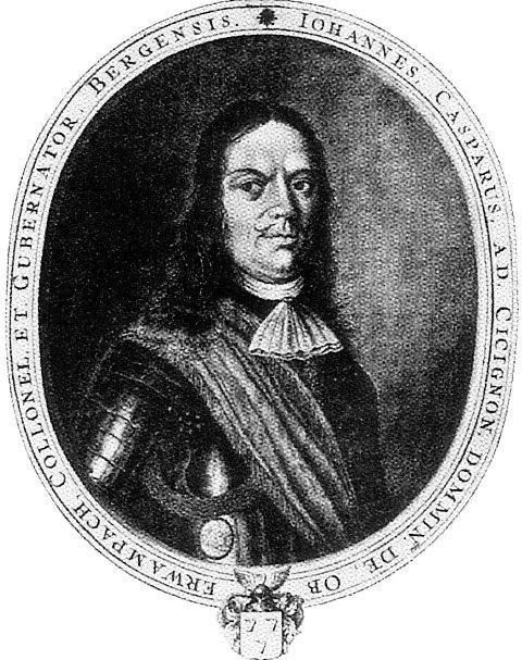 Johan Caspar von Cicignon satte mange spor etter seg i Fredrikstad-samfunnet på 1600-tallet.