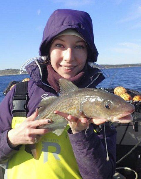 Ikke kysttorsk: Den torsken forsker Ann-Elin Synnes tok prøver av i oktober er fra Nordsjøen.arkivfoto